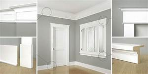 Classical, Craftsman, Moldings, 20th, Century, Style