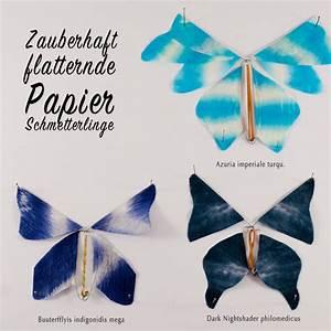 Schmetterlinge Aus Papier : flatternde schmetterlinge aus papier ~ Lizthompson.info Haus und Dekorationen