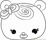 Swirl Slime Coloring Template Noms Num Minty sketch template