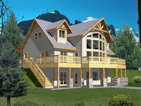 House Plan 85316 Coastal Style with 3717 Sq Ft 3 Bed 3