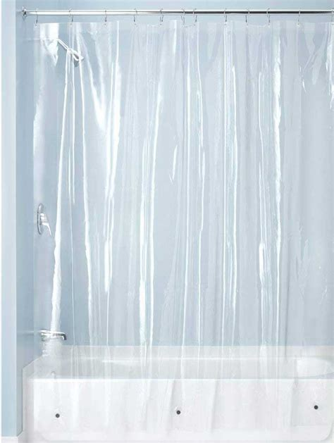 tenda doccia trasparente la tenda da doccia e il bagno si veste con brio 15