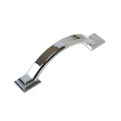 Chrome Cabinet Pull by Gliderite 3 In Polished Chrome Arched Square Cabinet Pull