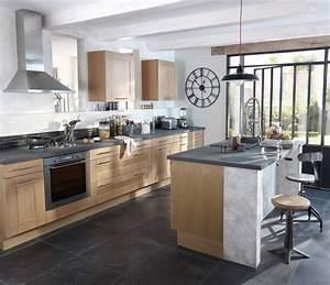 belles cuisines urbantrottcom With meubles de cuisine lapeyre 5 notre selection des plus belles cuisines en bois cuisine