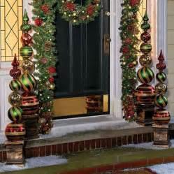 christmas ornament ball finial topiaries christmas