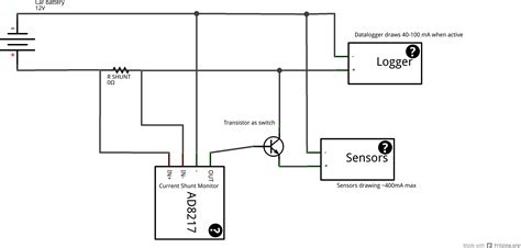 switches circuit to switch power when detecting current