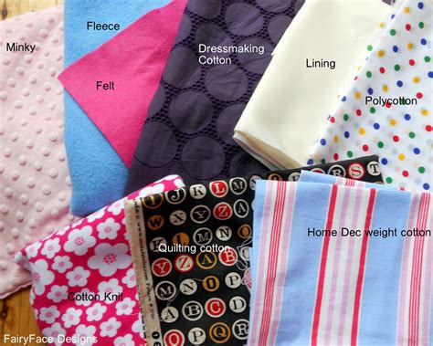 fabric types fairyface designs sew get started sewing basics part 1