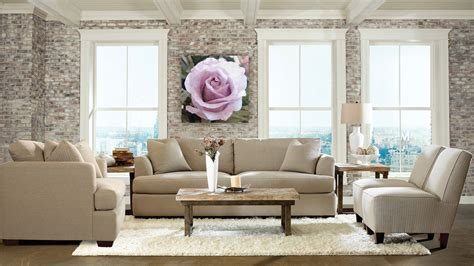 Beautiful Full Exposed Stone Living Room Wall Ideas