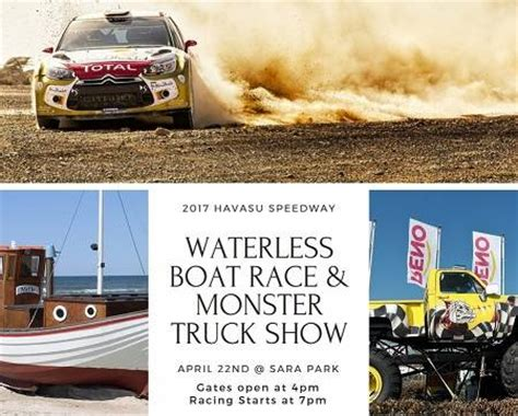 monster truck show hton va 2017 havasu speedway waterless boat race