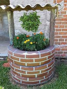 comment realiser un puits artificiel pour la decoration de With comment trouver un puit dans son jardin