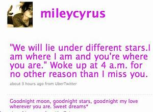 Miley Cyrus Throws Herself a Pity Party Via Twitter - The ...