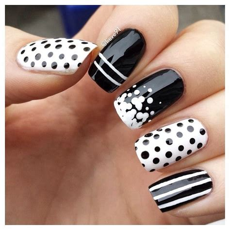and white nail designs 32 black and white nail designs and nail designs for you