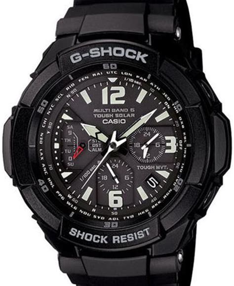 casio g shock wrist watches g shock aviation black orange gw3000bb 1a