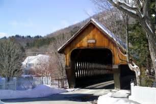 Covered Bridge Woodstock Vermont