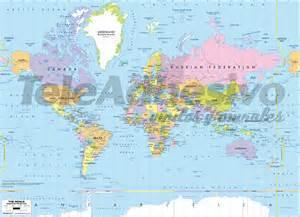 gratuit papier peint de bureau cartes du monde peinture