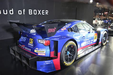 subaru brz racing subaru unwraps brz gt300 at the 2015 tokyo auto salon