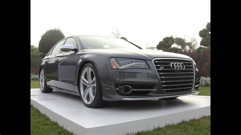2013 Audi S8 0-60 Mph First Drive Review