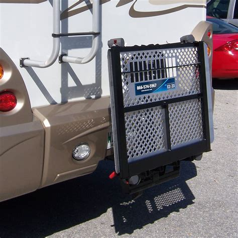 harmar rv electric power chair scooter lift carrier