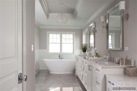 Modern Classic Bathroom Ideas by Inspiring Room White Monochromatic Classic Master