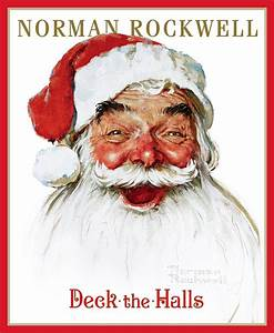 Deck the Halls | Book by Public Domain, Norman Rockwell ...