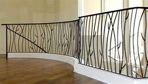 la rambarde fer forge quelques modeles inspirantes With attractive modele de terrasse exterieur 0 garde corps exterieur hagane