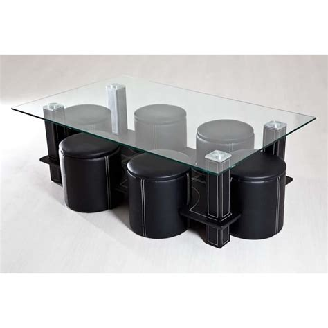 Table Basse Avec Pouffe  Achat  Vente Table Basse Avec