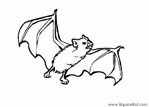dessin de coloriage chauve souris  imprimer cp