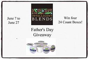 Intelligent Blends Father's Day Giveaway