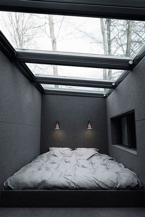 cozy  inviting bedrooms  skylights shelterness