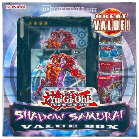 Six Samurai Structure Deck Ebay by Konami Yu Gi Oh Shadow Samurai Value Box Ebay