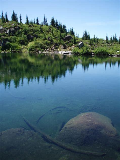monogram lake trail north cascades national park  national park service