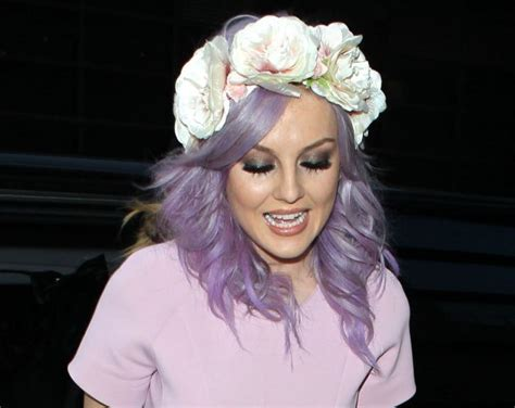 Little Mixs Perrie Edwards Debuts New Pink Hair
