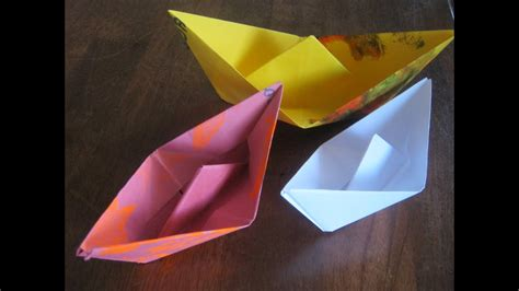 How To Make A Paper Boat Float Longer by How To Make A Paper Boat