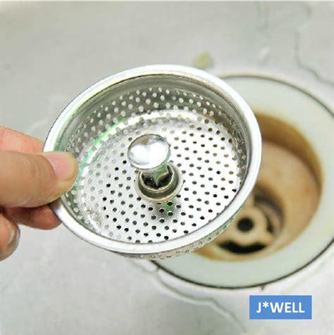 Brief Mesh Stainless Steel Kitchen Bathroom Sink Strainer