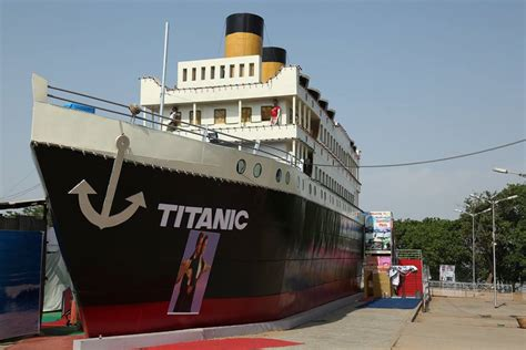 New Titanic Ship Attracks Hyderabad Tourism
