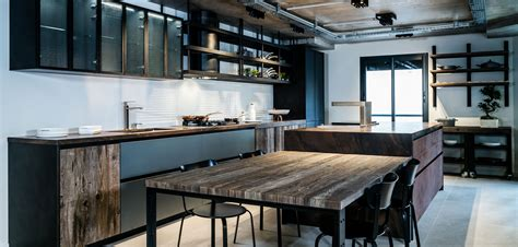 table cuisine style industriel meuble de cuisine style industriel entre de maison dco