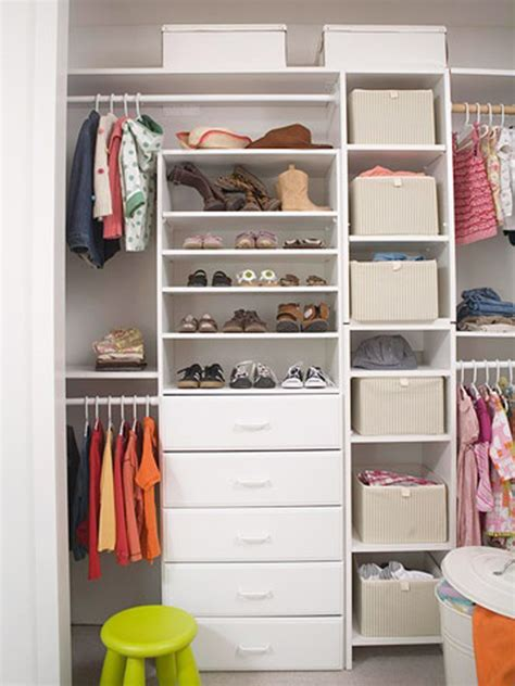 simple closet organization