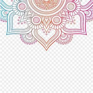 Mehndi Henna Mandala - Design Png Download