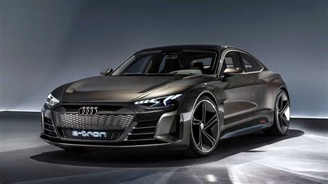 new audi e tron gt concept previews audi s tesla model s