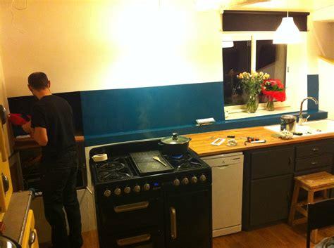 peindre mur cuisine peindre mur cuisine cuisine deco tendance salon gnial