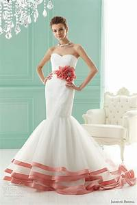 jasmine bridal 2012 wedding dresses wedding inspirasi With wedding dresses with coral color