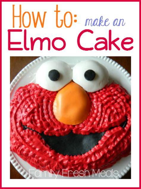 happy  birthday elmo cake family fresh meals