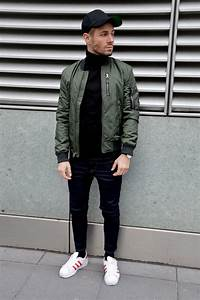 336 best Green Bomber Jacket images on Pinterest | Man style Menu0026#39;s clothing and Man outfit