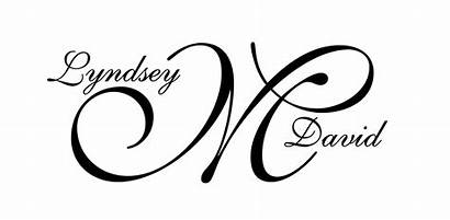 Monograms Logos Custom Weddings Last