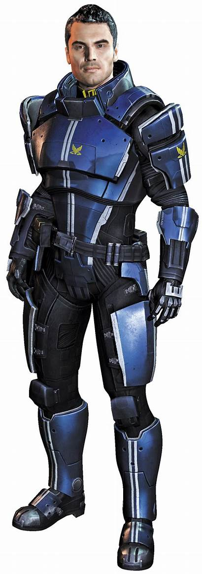 Kaidan Mass Effect Alenko Cosplay Character Renders