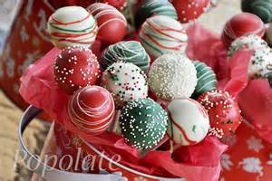 christmas cake pops popolate