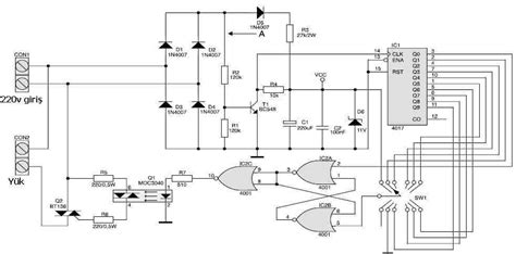 Isolated Gradual Dimmer Circuit Electronics Projects