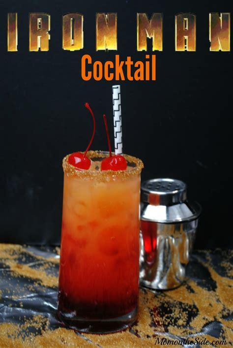 iron man cocktail recipe  sip  watching avengers
