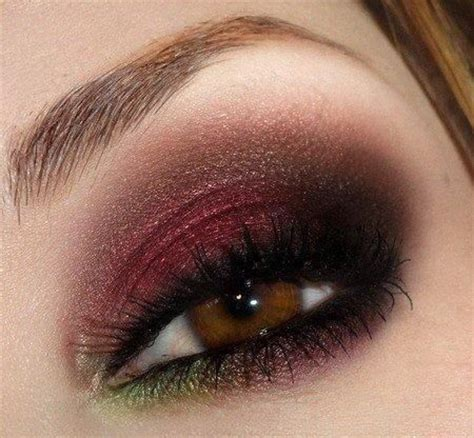 maroon eye shadow beauty faves pinterest