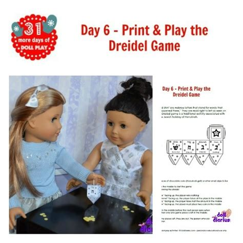Printable Dreidel Directions