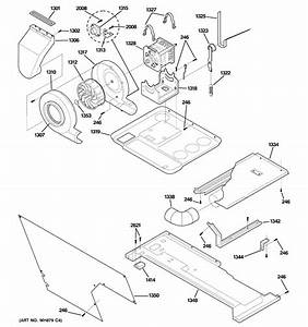 Motor  Blower  U0026 Belt Diagram  U0026 Parts List For Model
